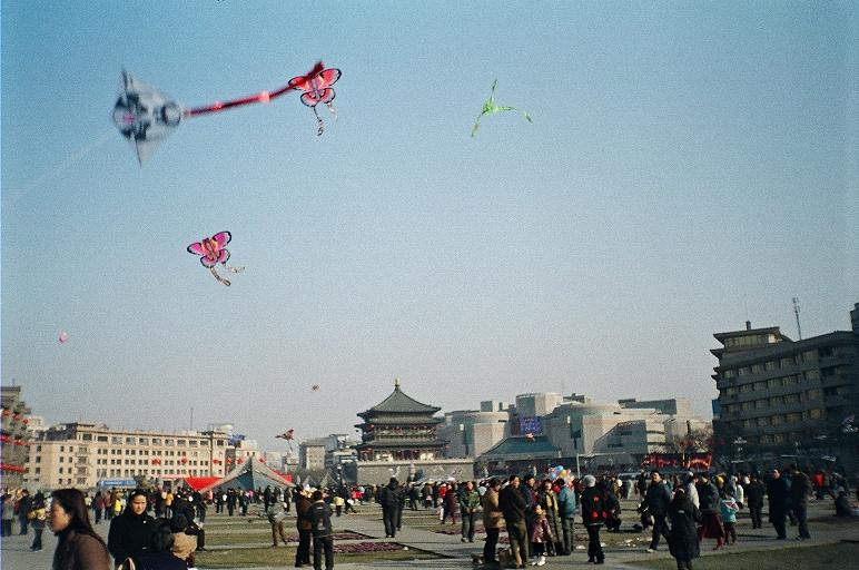 过去百年来世界各地放风筝的愉快场景 - wuwei1101 - 西花社