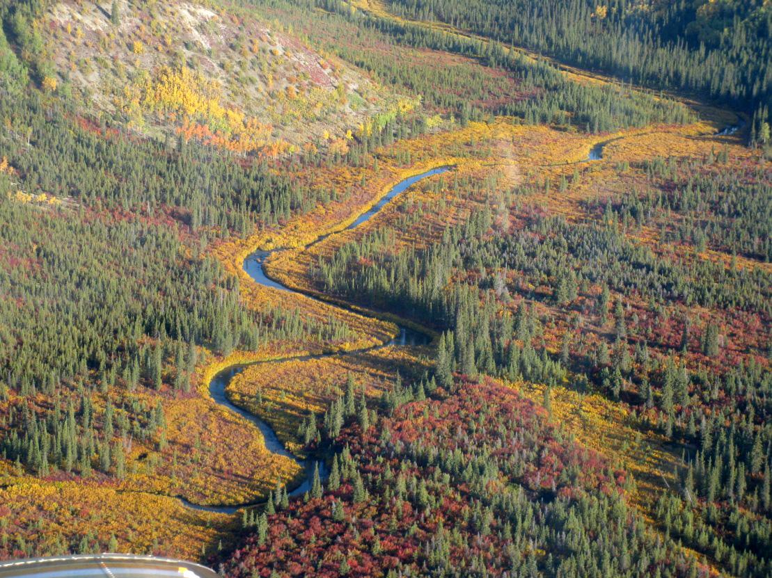 הפארק הלאומי עמק קובוק בשלהי הקיץ