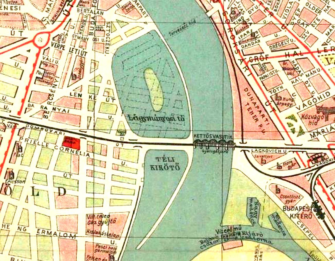 nagy budapest térkép File:Lágymányosi tó 1930 térkép.   Wikimedia Commons nagy budapest térkép