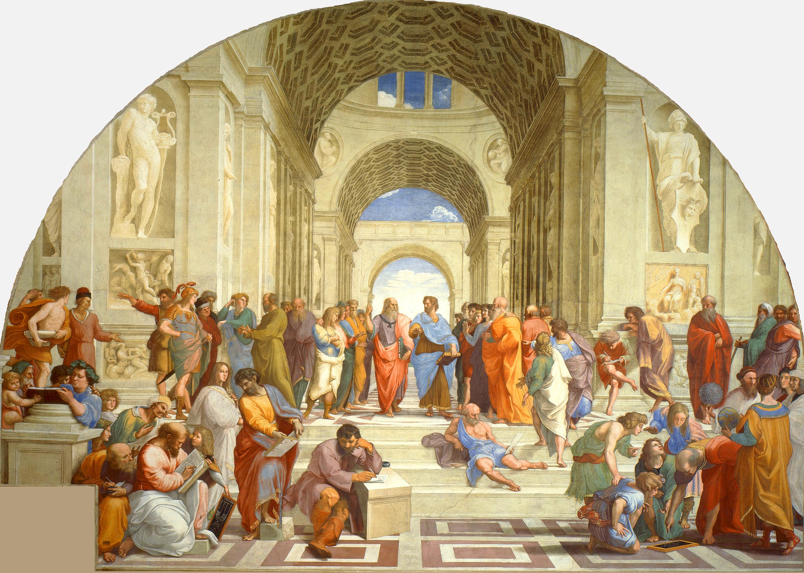Von den Superphilosophen: Raffaello Sanzio (1509)