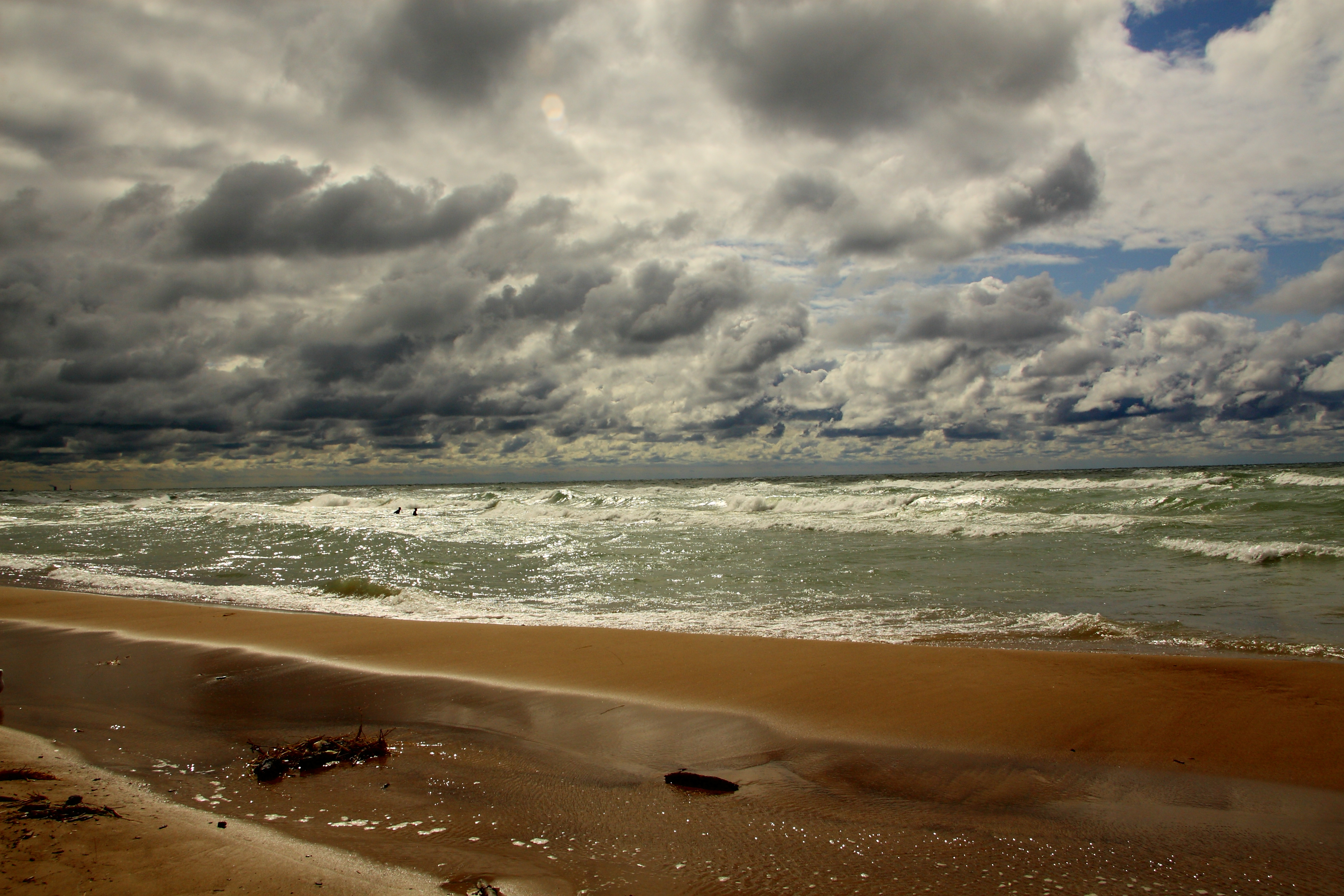 Photo of the Beach From Lake Michigan