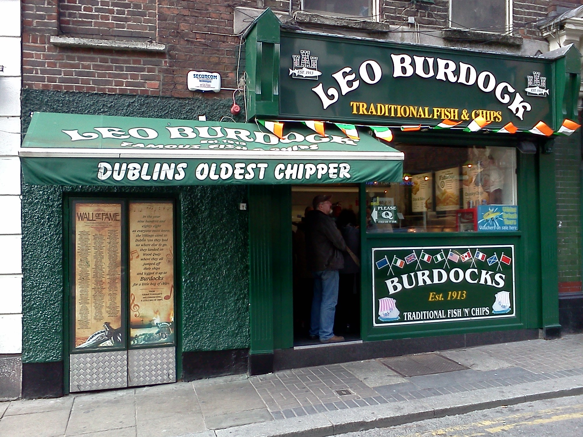 Leo Burdock - an institution in Dublin! (oldest fish and chip shop).jpg
