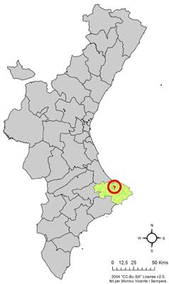 File:Localització de Beniarbeig respecte del País Valencià.png