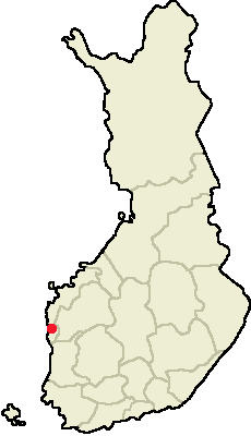 Location of Kristinestad in Finland.png