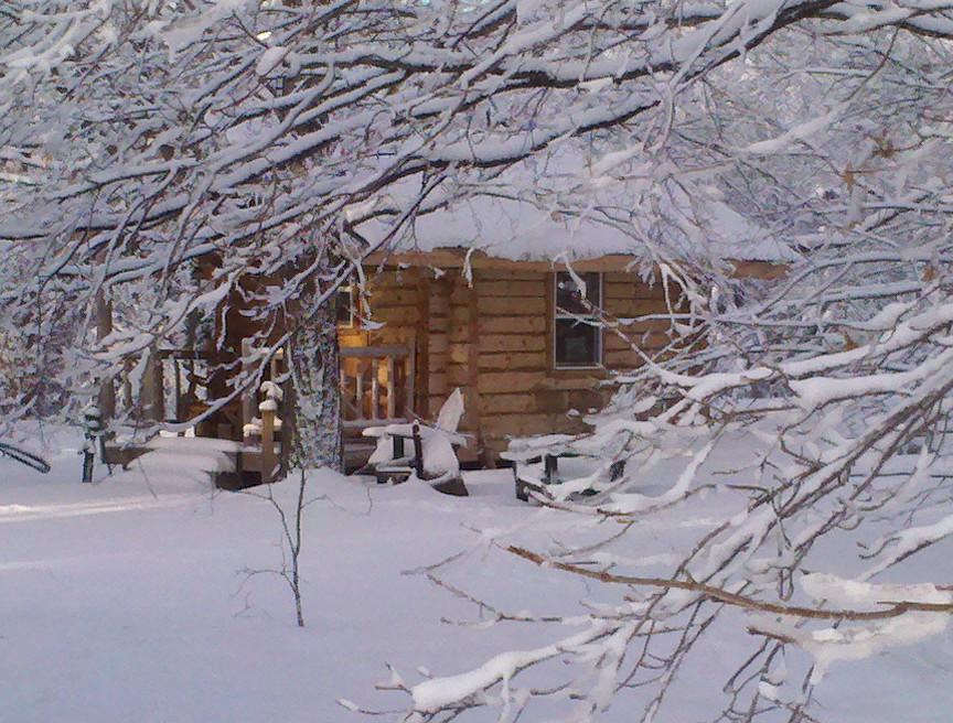 Christmas Cabin Interior