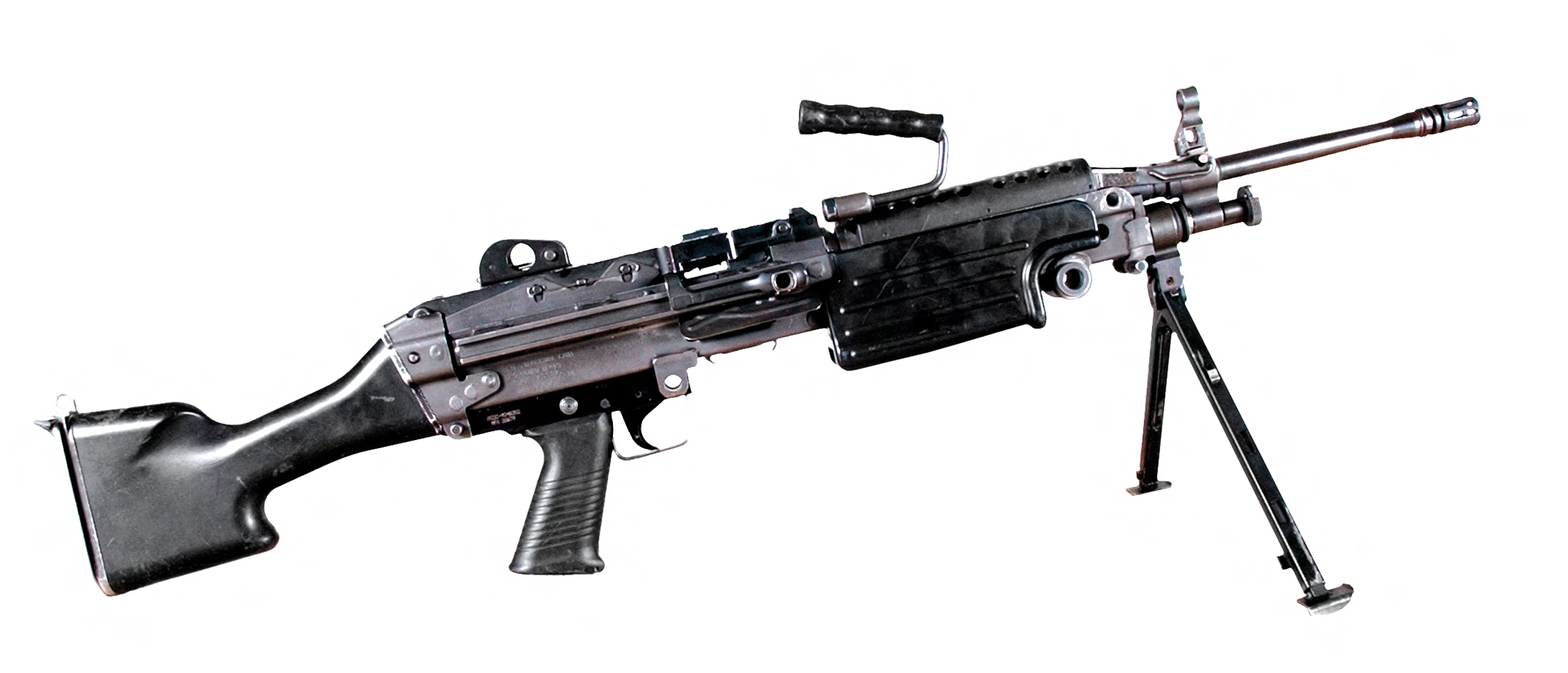 M249 light machine gun - Wikipedia