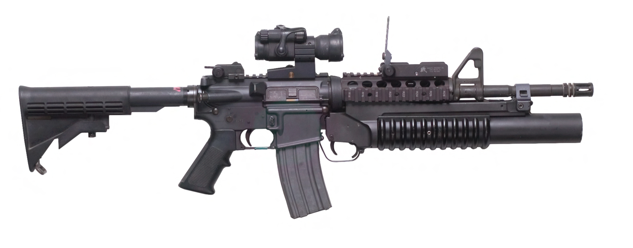 file m4 carbine with m203 grenade launcher 7414626424 jpg