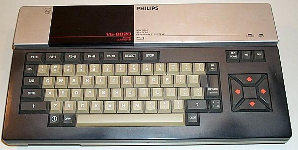 MSX Philips VG 8020