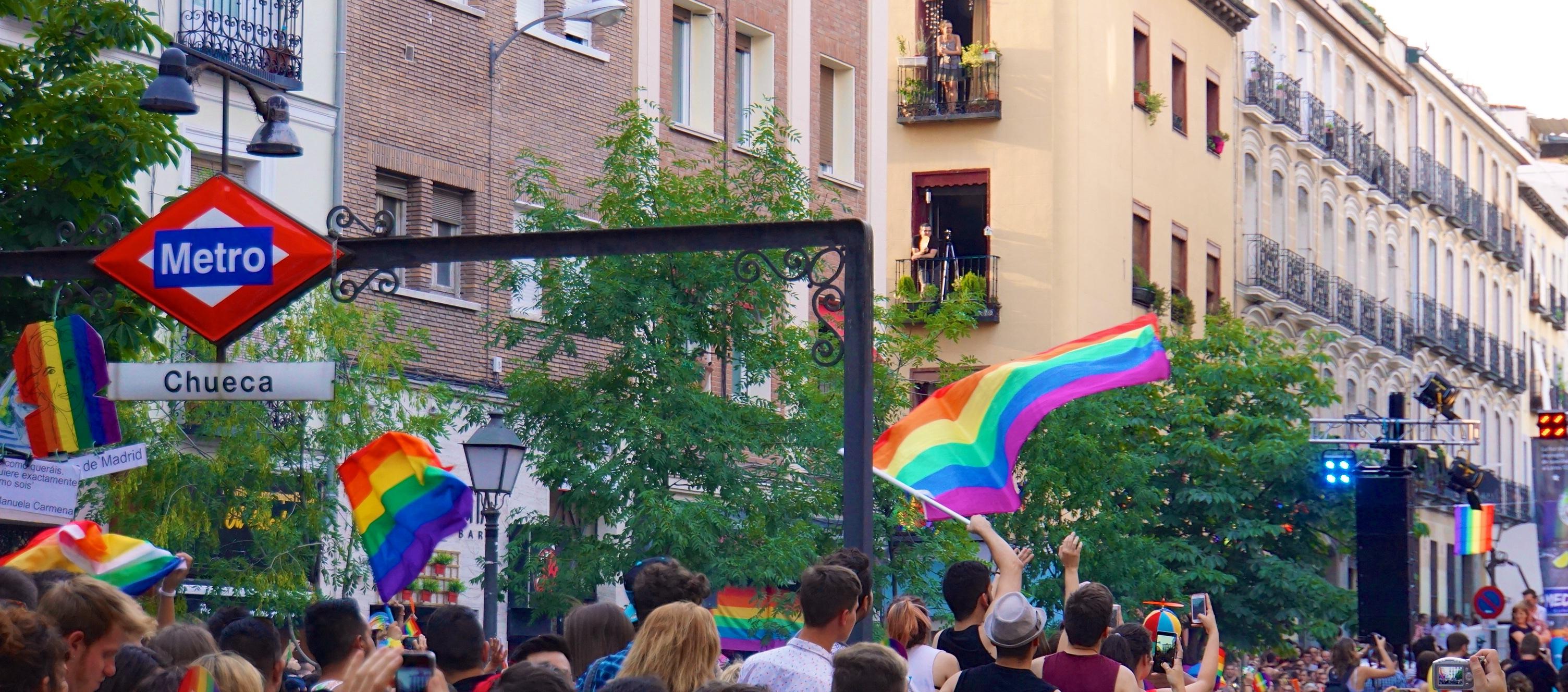 Flickr pools TRAVEL Photography! LGBT PRIDE Flickr tags bisexual rainbow flag gay pride 2015 chueca lesbian madrid spain transgender pride flag LGBTQ Sony