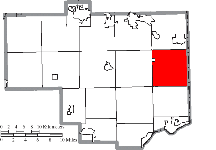 File Map Of Columbiana County Ohio Highlighting Middleton Township