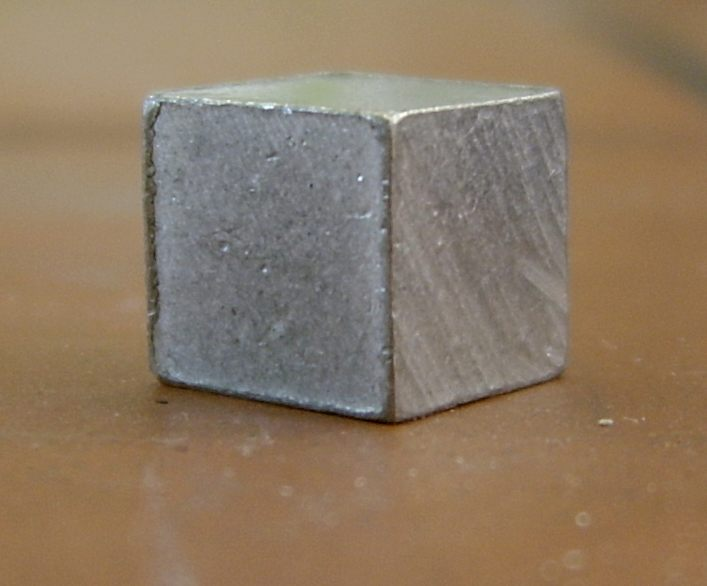 Description Metal cube aluminium jpg