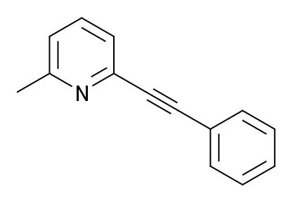 2 Methyl 6 Phenylethynylpyridine
