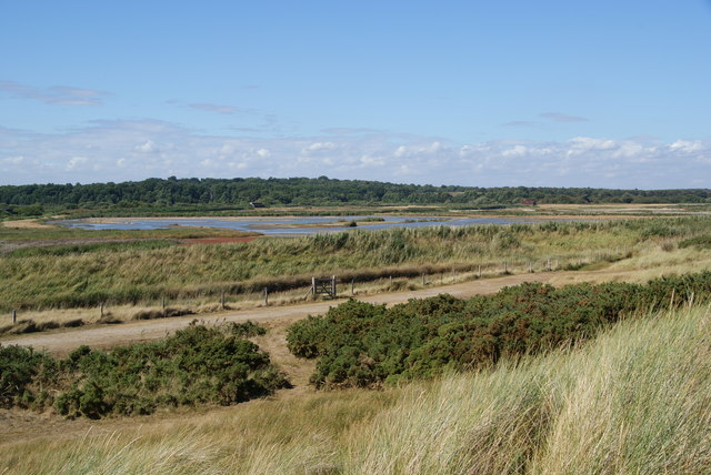 Minsmere from the coast - geograph.org.uk - 1596662