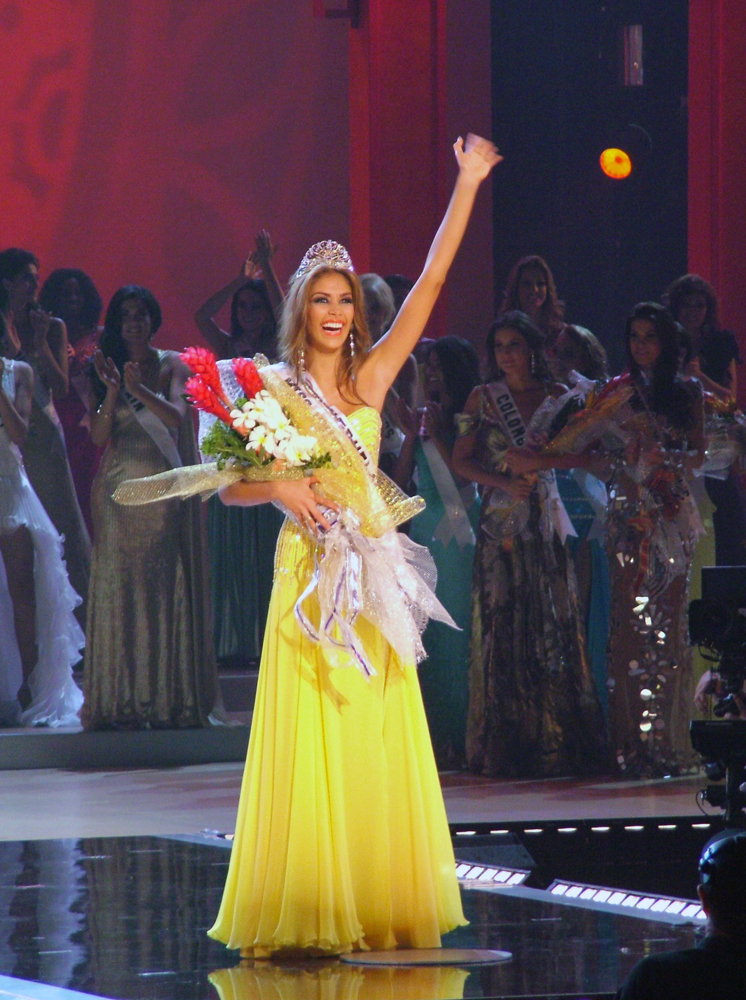 Depiction of Miss Universo 2008