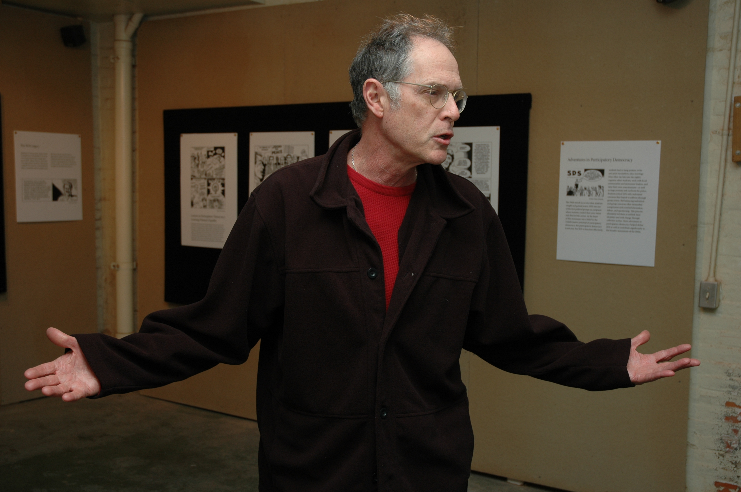 Paul Buhle in Providence (c. 2007)