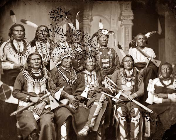 Native American Chiefs 1865