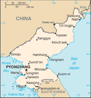 Category:Populated places in North Korea