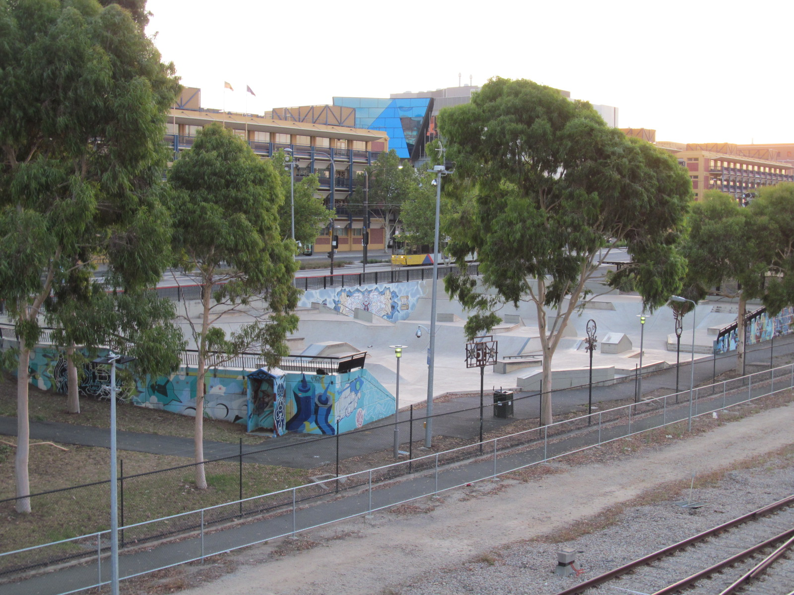 My favourite public park is being demolished for 31 north terrace adelaide