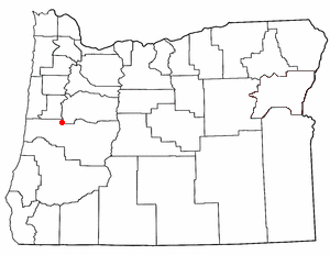 Loko di Junction City, Oregon