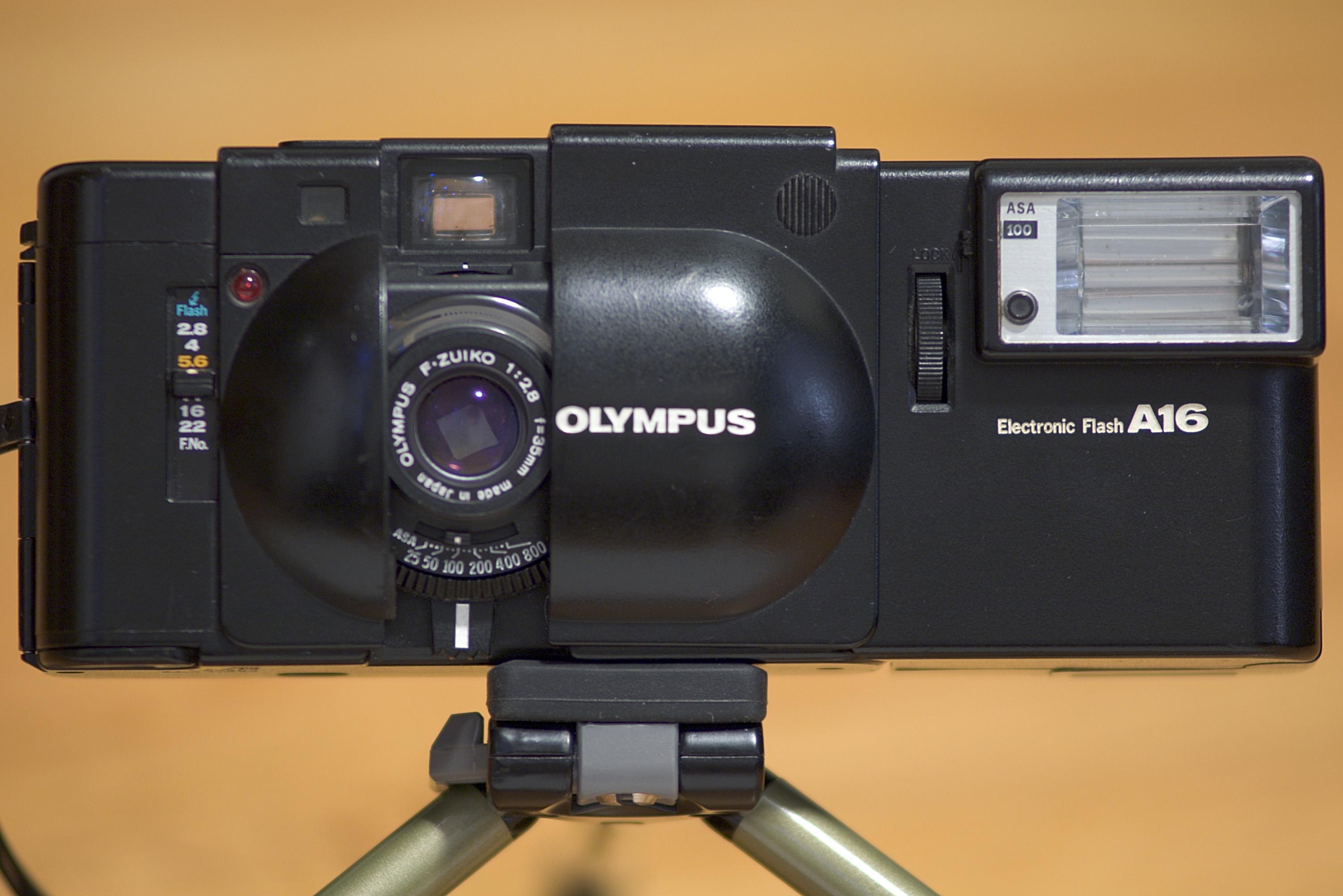 Olympus xa battery
