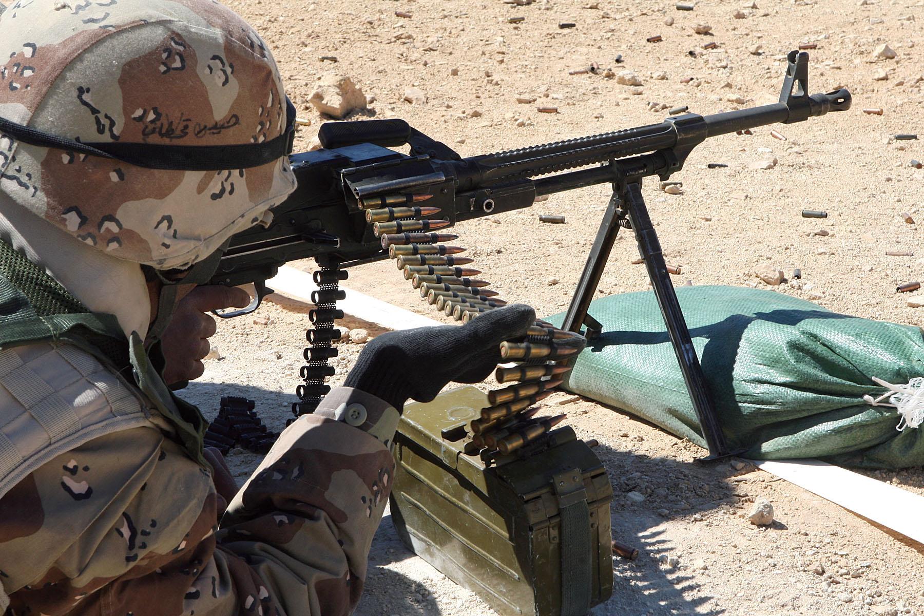 Description PKM Machine Gun Iraq.jpg