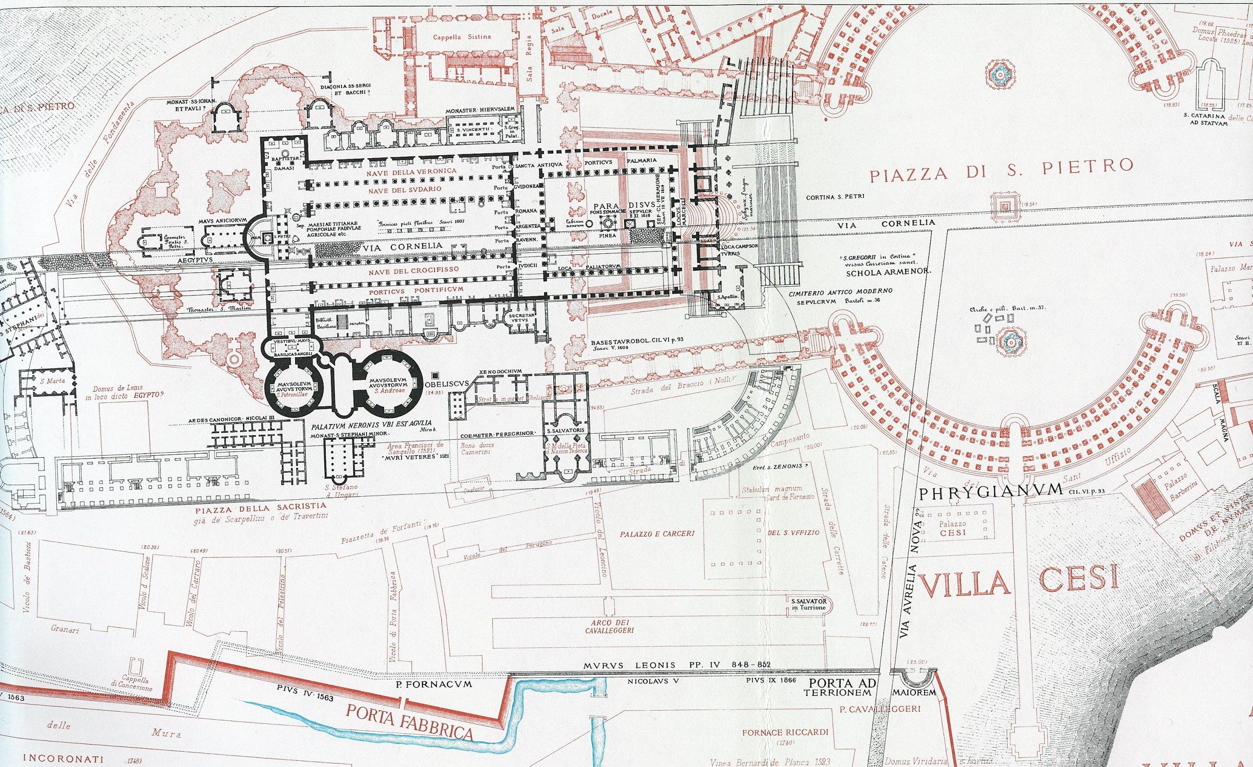 File Papal Basilica Of Saint Peter Lanciani Jpg