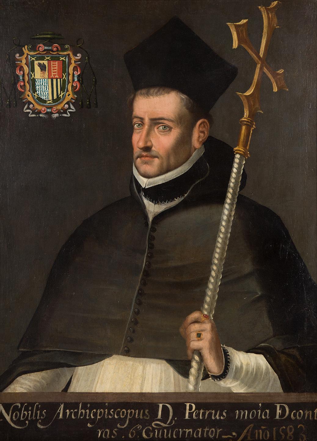 Retrato de Pedro Moya de Contreras.