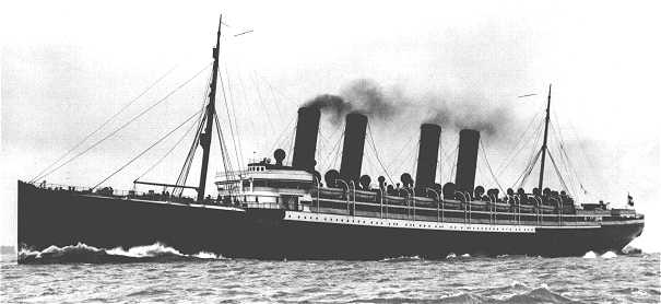 File:Photo of the SS Kaiser Wilhelm der Grosse at sea.jpg