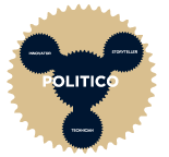 English: Politico button
