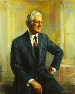 Connally's official Treasury Department portrait