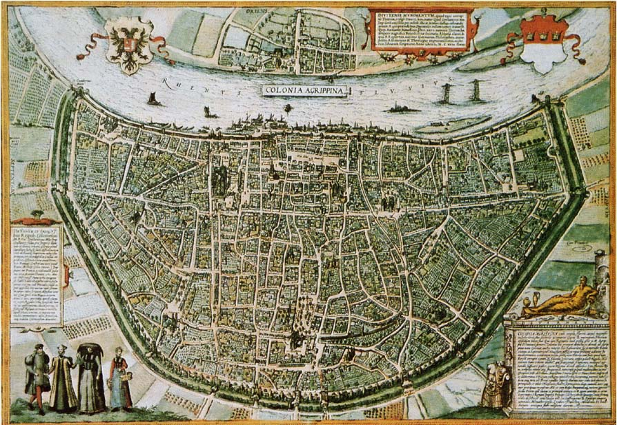 Plan De La Ville De Coulogne