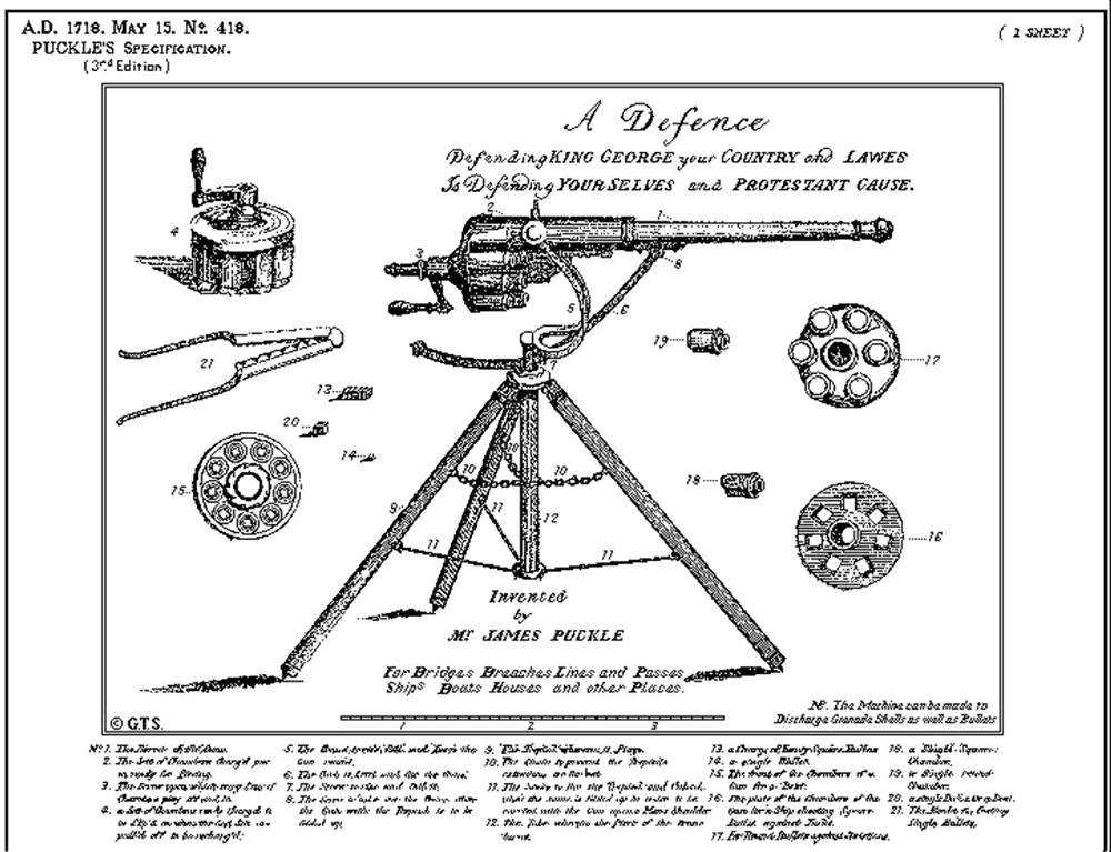 Image result for Puckle Gun