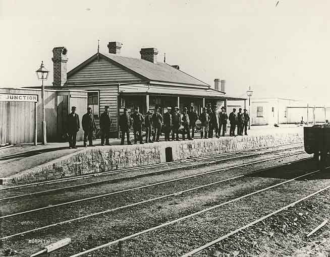 Morpeth Australia  city pictures gallery : Railway Station Junee Morpeth, Australia