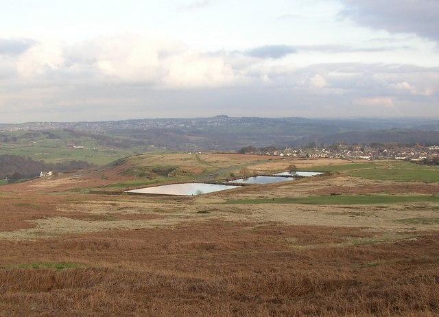 Reservoirs, Baildon Moor - geograph.org.uk - 341937
