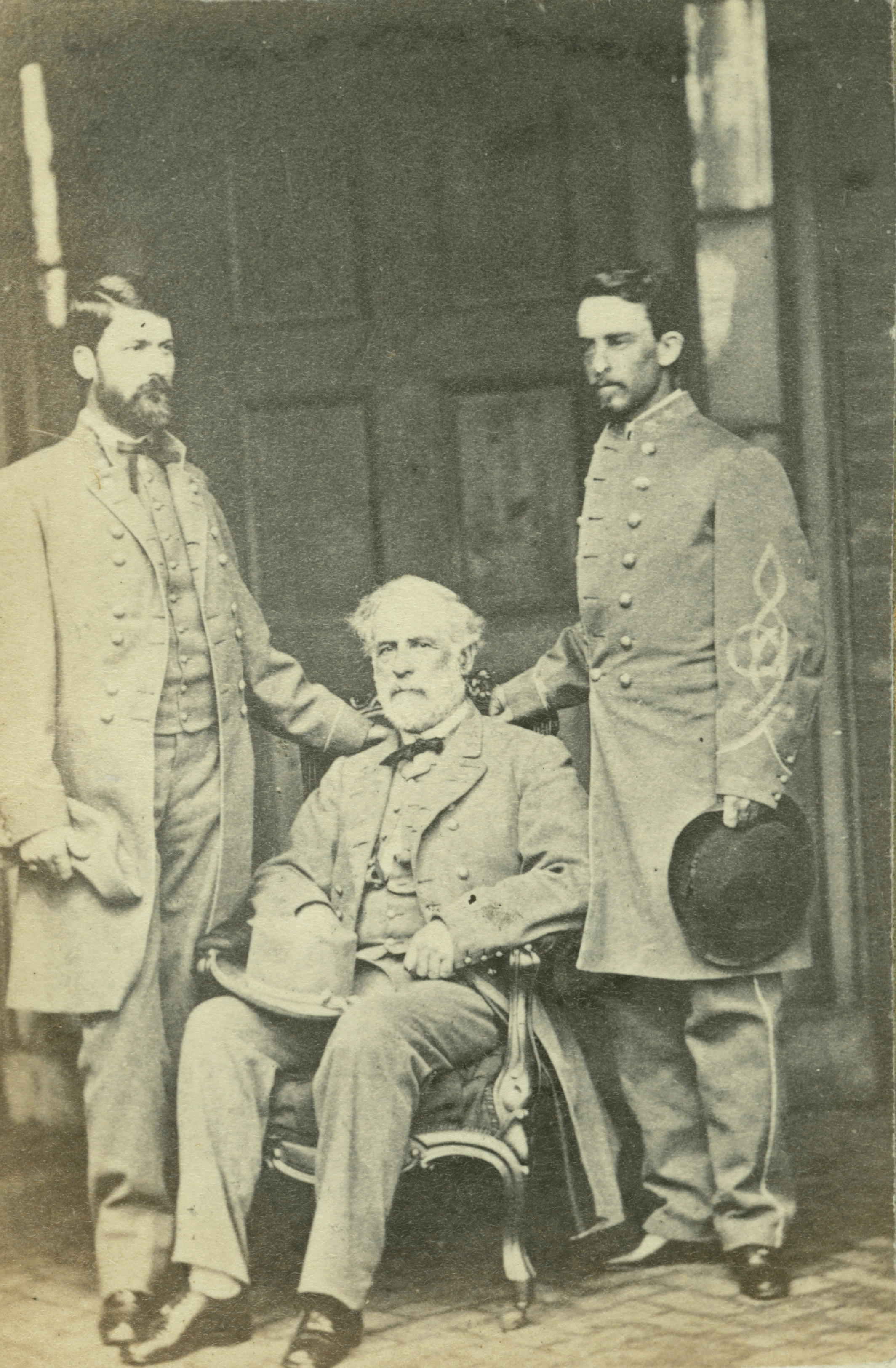 File Robert E Lee G W Custis Lee & Walter H Taylor