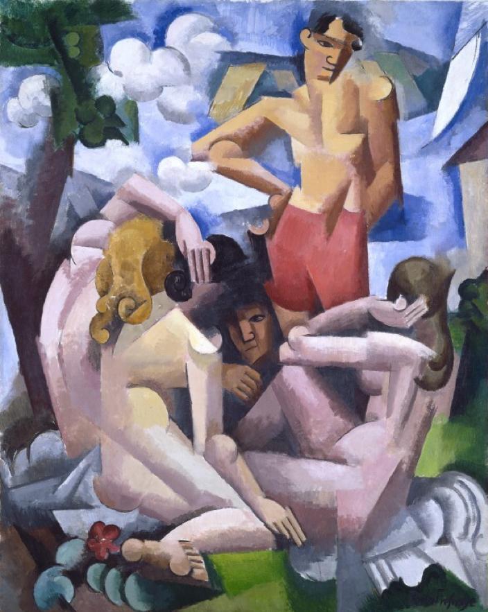 罗杰·德拉芬烈法国画家Roger de La Fresnaye (French,1885-1925) - 文铮 - 柳州文铮