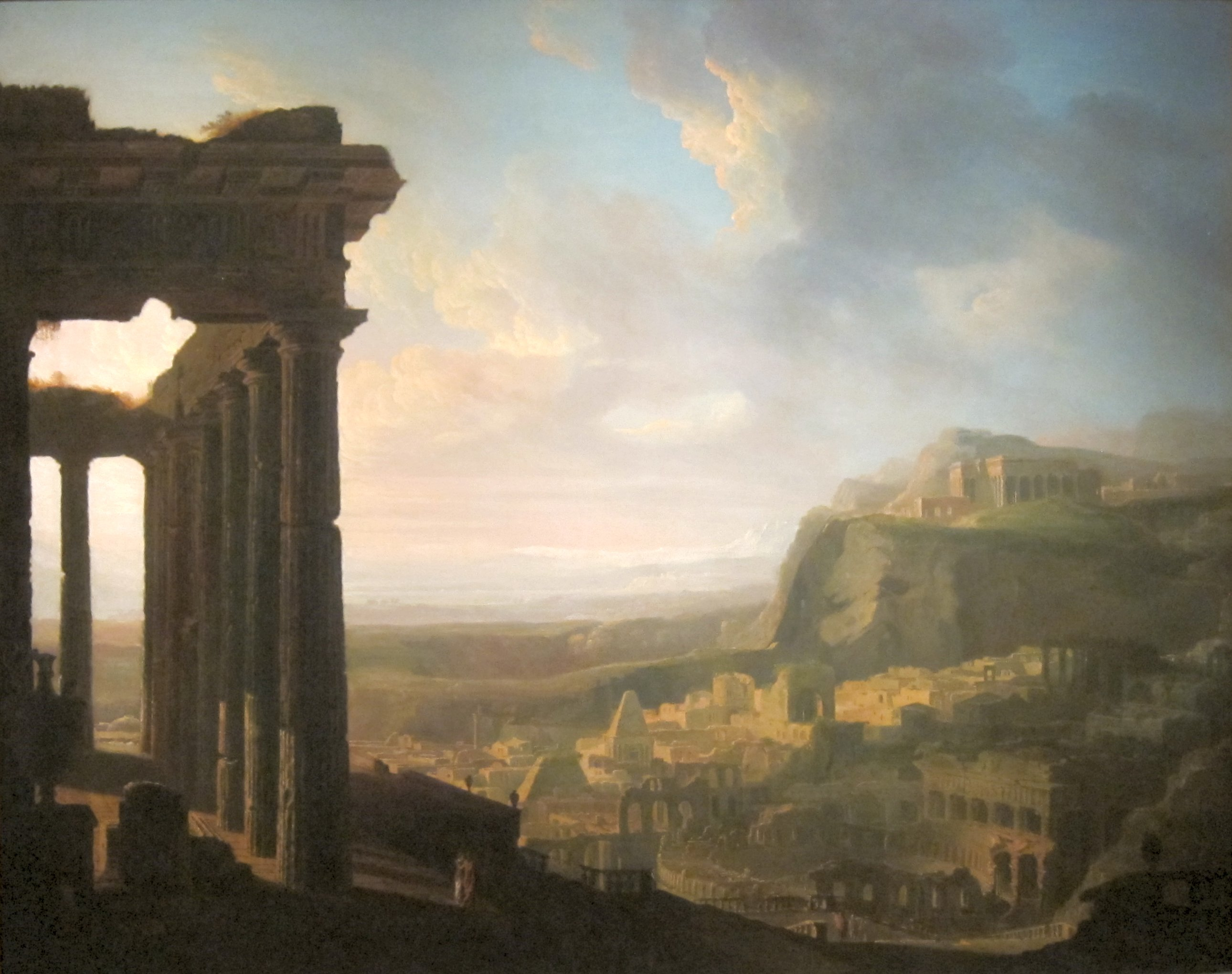 File Ruins Of An Ancient City By John Martin 1810s Jpg