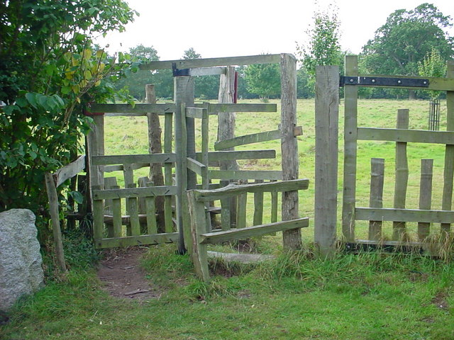 File:Rustic turnstile - geograph.org.uk - 564455.jpg