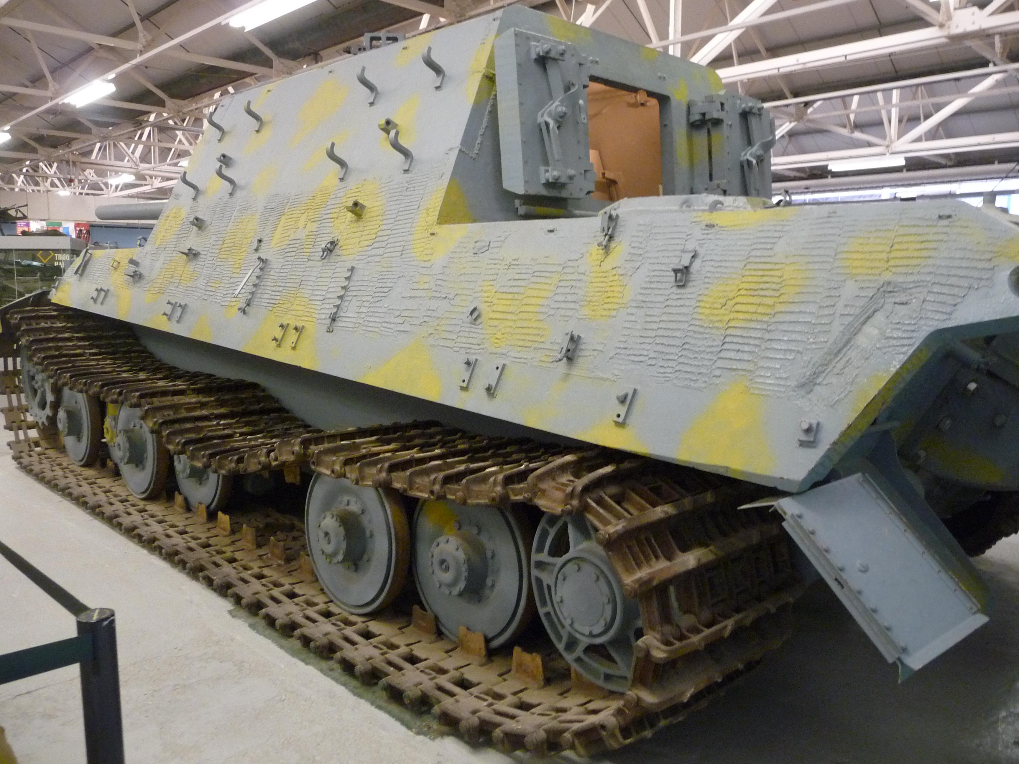 File Sd Kfz 186 Jagdtiger Bovington Jpg Wikimedia Commons