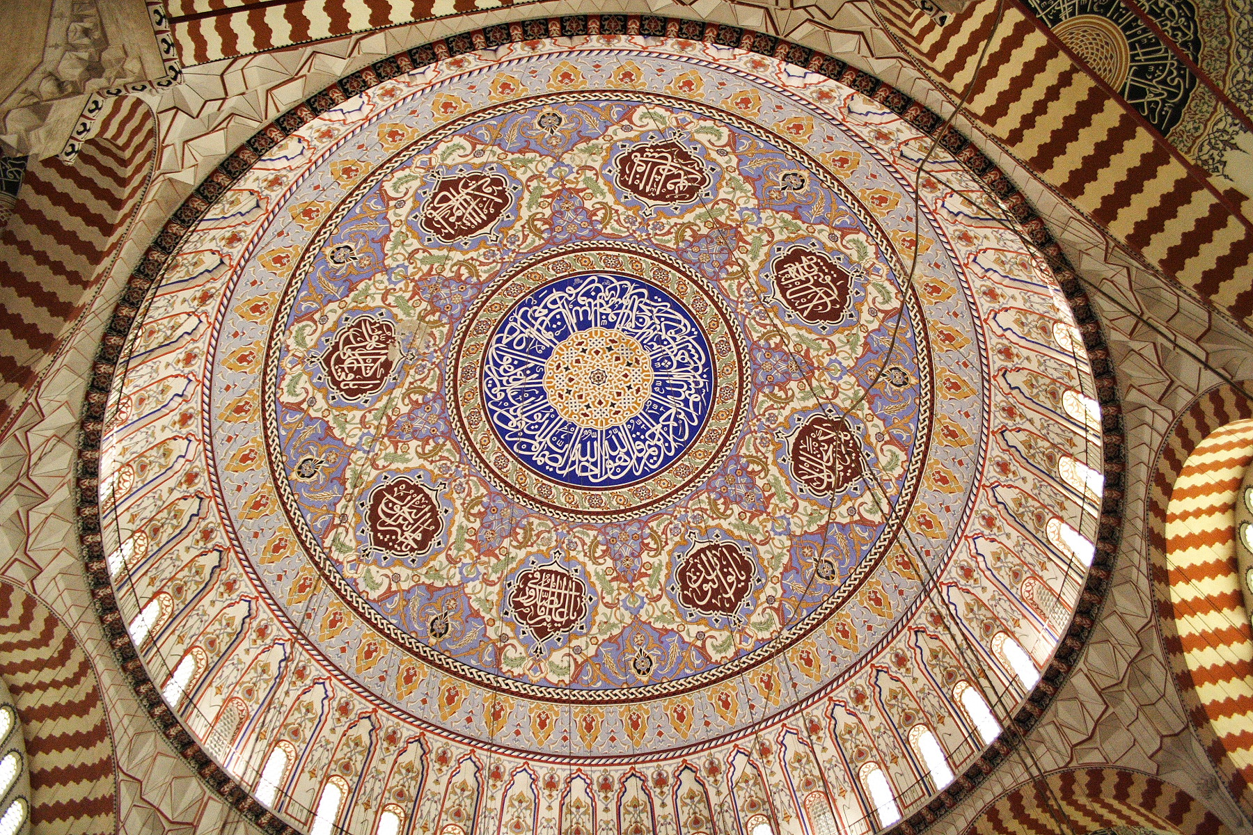 http://upload.wikimedia.org/wikipedia/commons/3/31/Selimiye_Mosque%2C_Dome.jpg