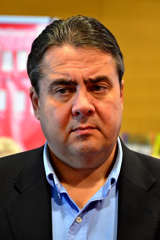 Sigmar Gabriel Toupet