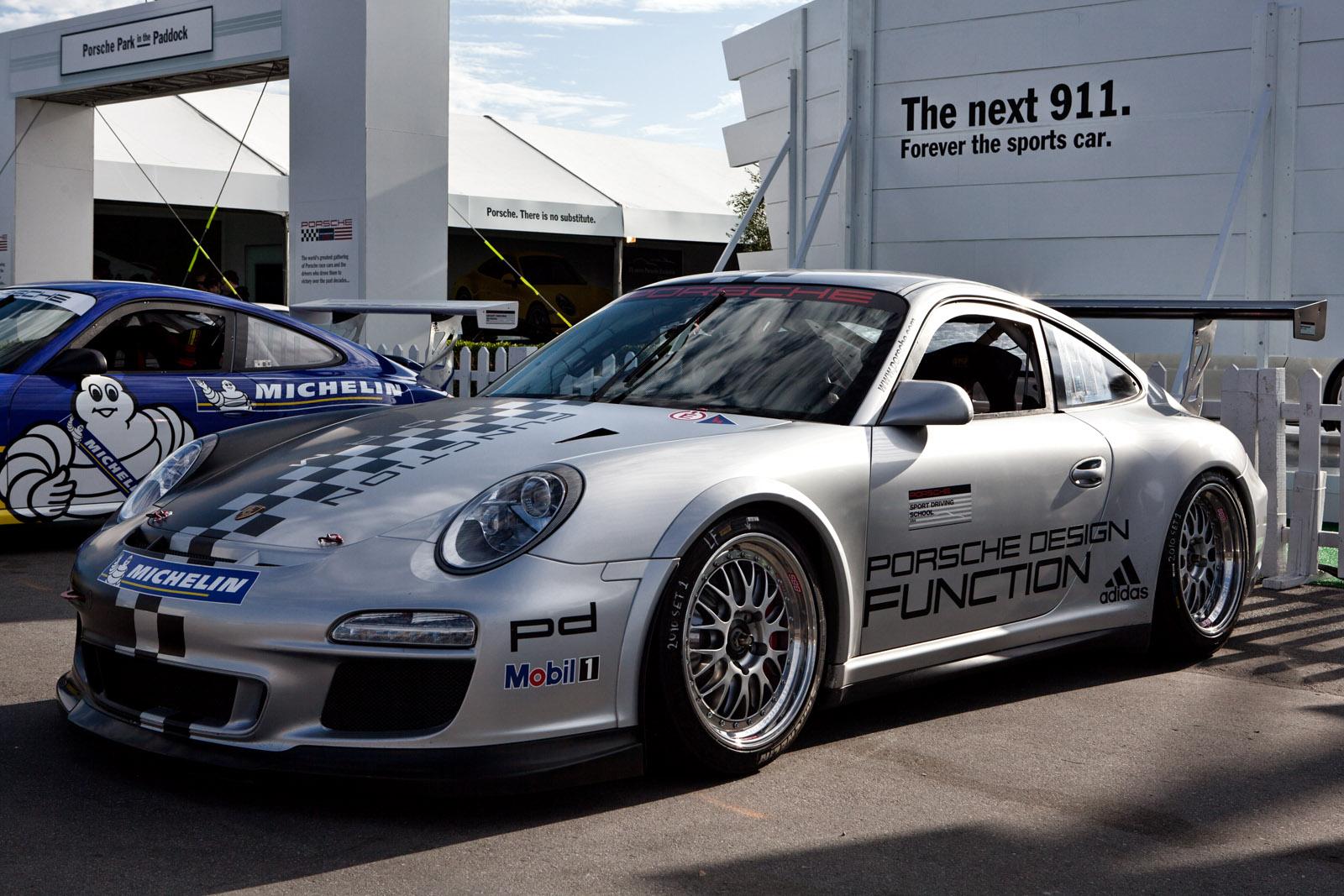 Mazda Raceway Laguna Seca >> File:Silver Porsche Design 997 GT3 Cup (Porsche Rennsport Reunion IV).jpg - Wikimedia Commons
