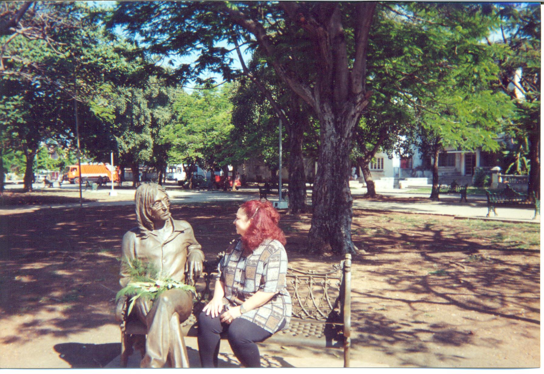 Sonia Silvestre en 2000.