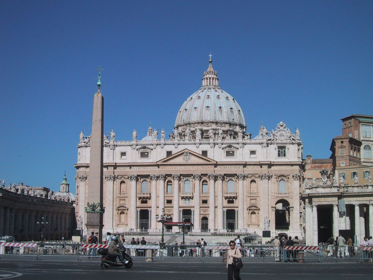 St Peters Basilica http://commons.wikimedia.org/wiki/File:St_Peters_Basilica.jpg