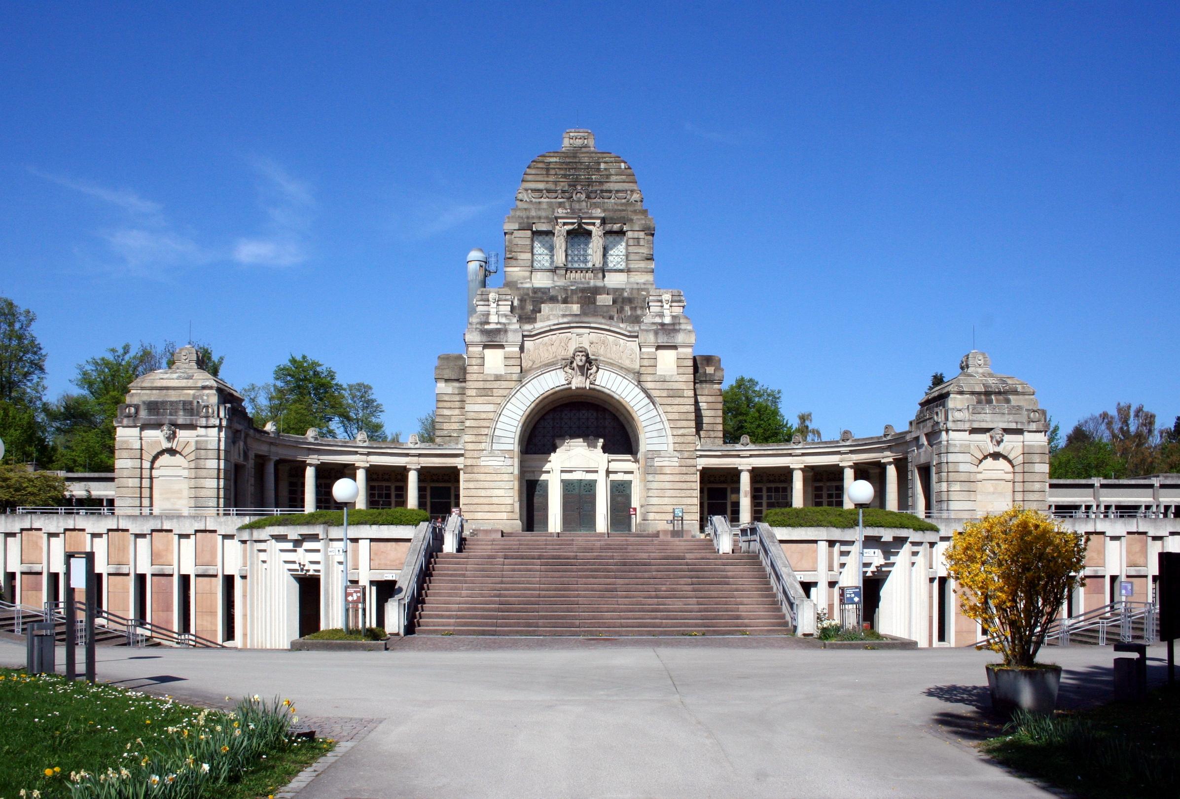 Stuttgart Pragfriedhof Krematorium