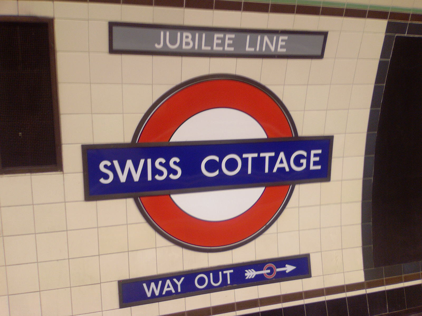 Swiss Cottage undergrunnsstasjon