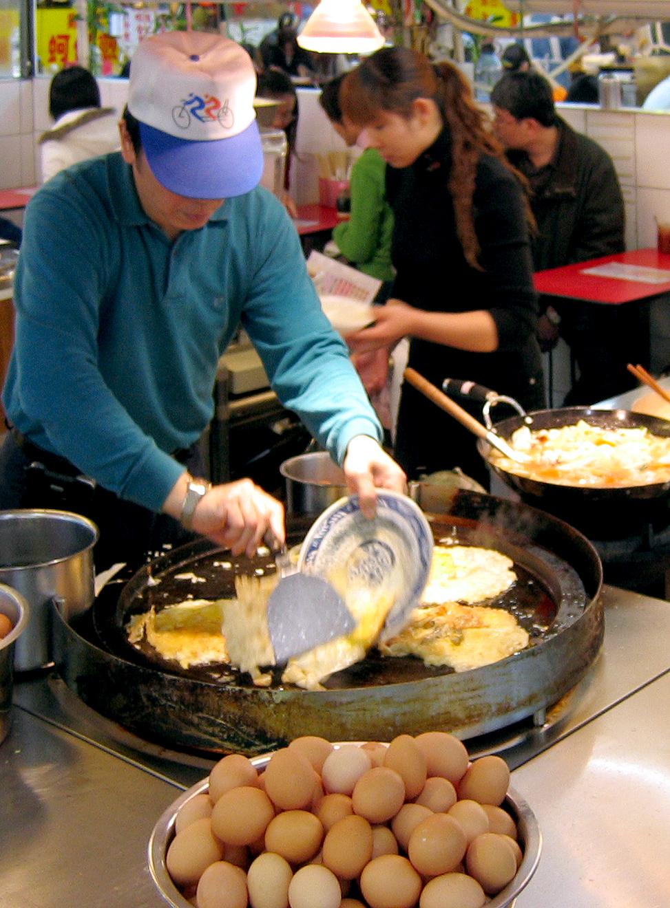 oyster omelette wikipedia