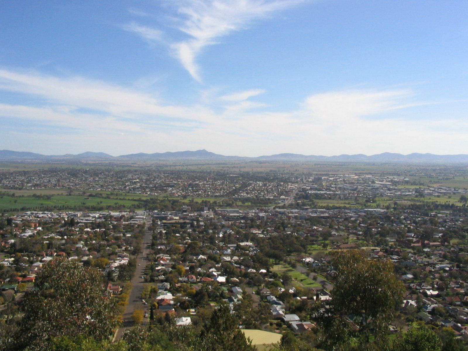 Tamworth Australia  City pictures : Tamworth lookout Wikipedia, the free encyclopedia