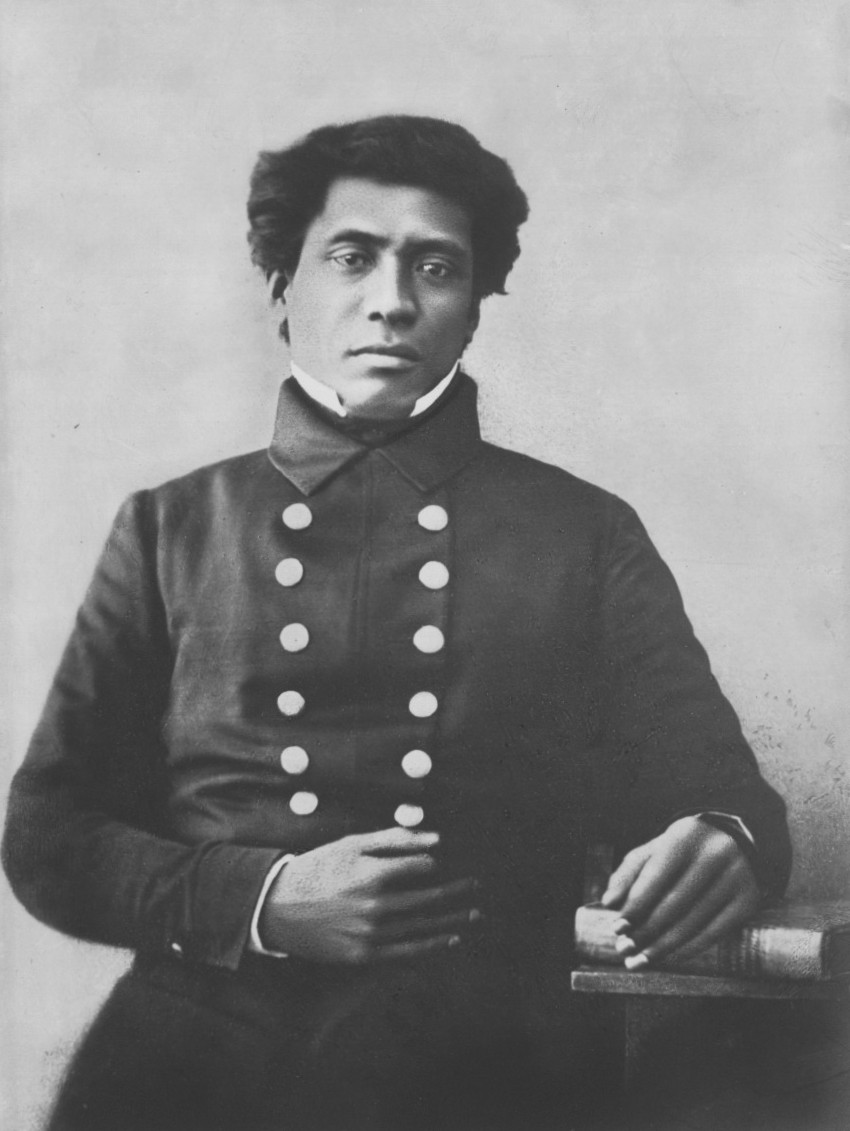 photo of Timoteo Haʻalilio, one of the ambassadors sent by King Kamehameha III.