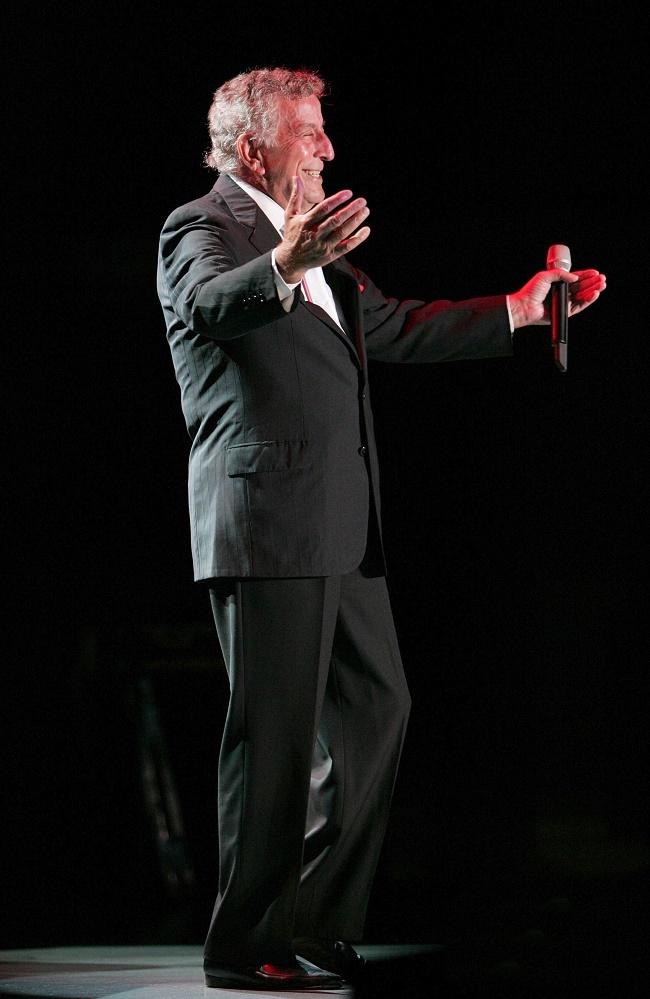 Depiction of Tony Bennett